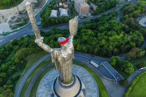 Motherland Statue in Kiev