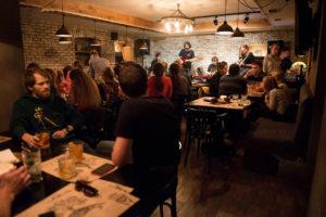Alchimist bar in Kiev