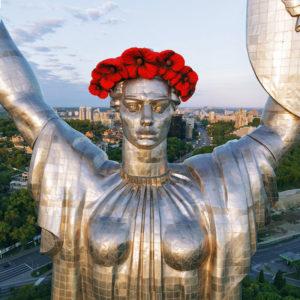Motherland Monument in Kiev