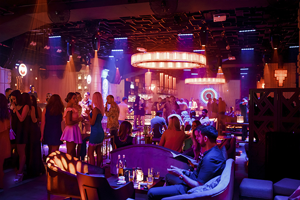 CHI nightclub in Kiev