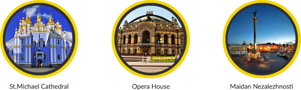 Kiev Opera and Maidan - check all main attractions with Guide me UA