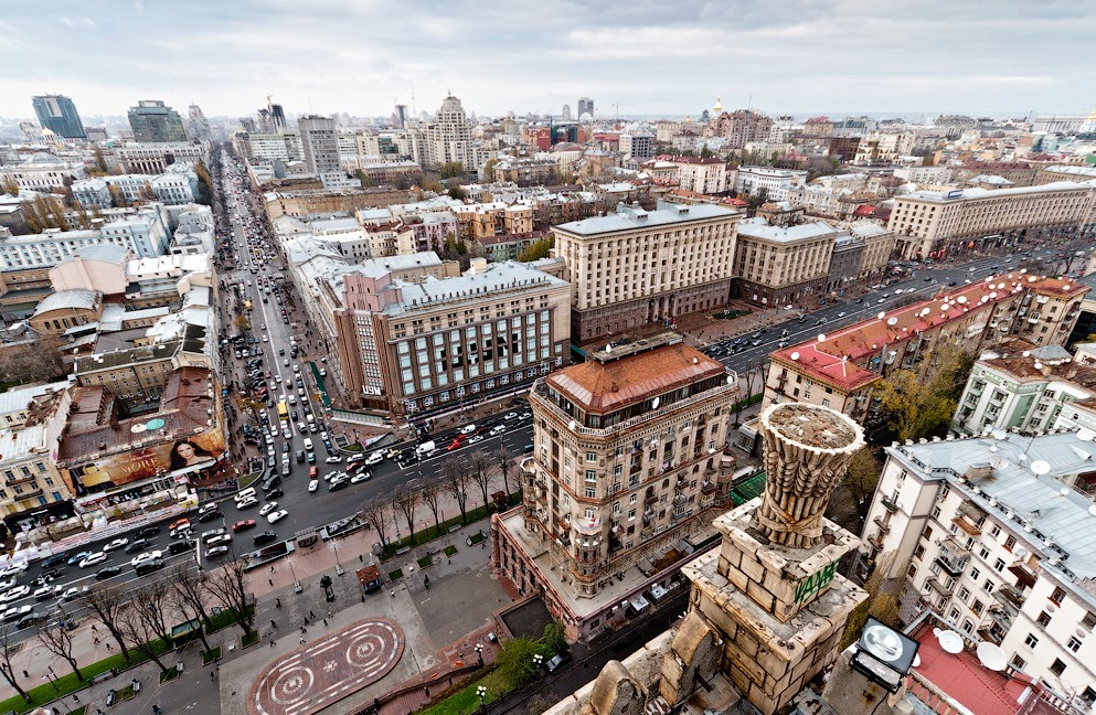 Khreschatik street is the main street in Kiev. Book Private tours with Guide me UA