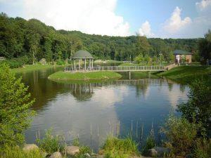 Feofania Park in Kiev