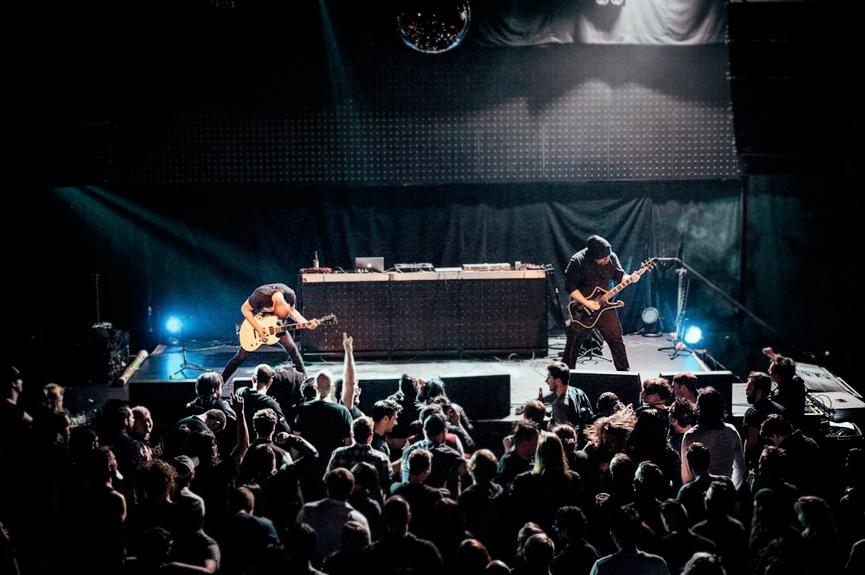 Rock concert in Kiev