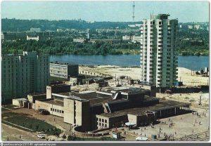 Obolon area in Kiev