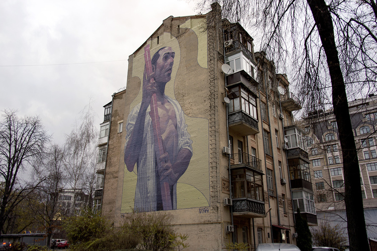 Aryz Mural