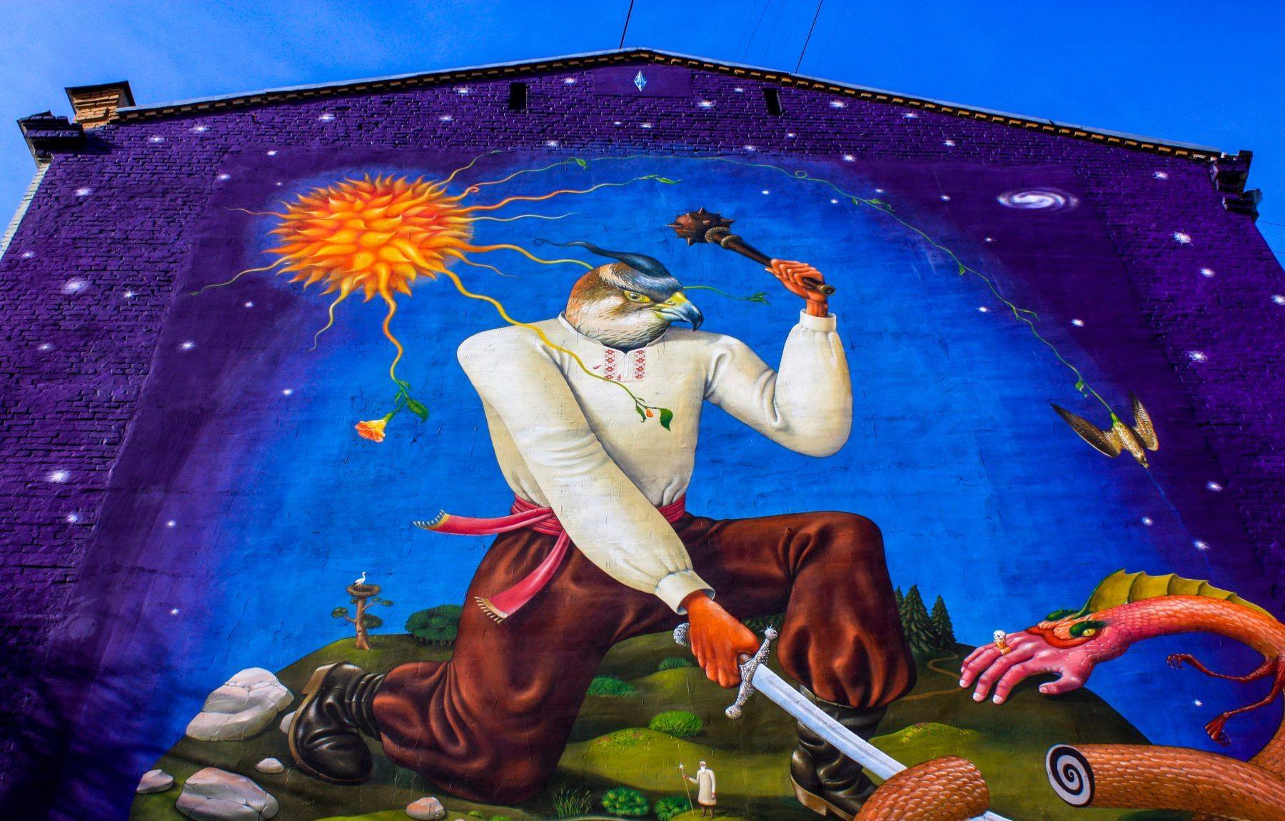 Kyiv Murals