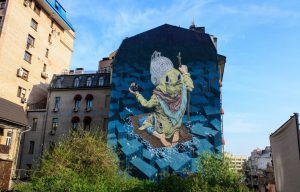 Kiev street art tours