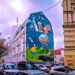 Street art of the capital of Ukraine - Kyiv