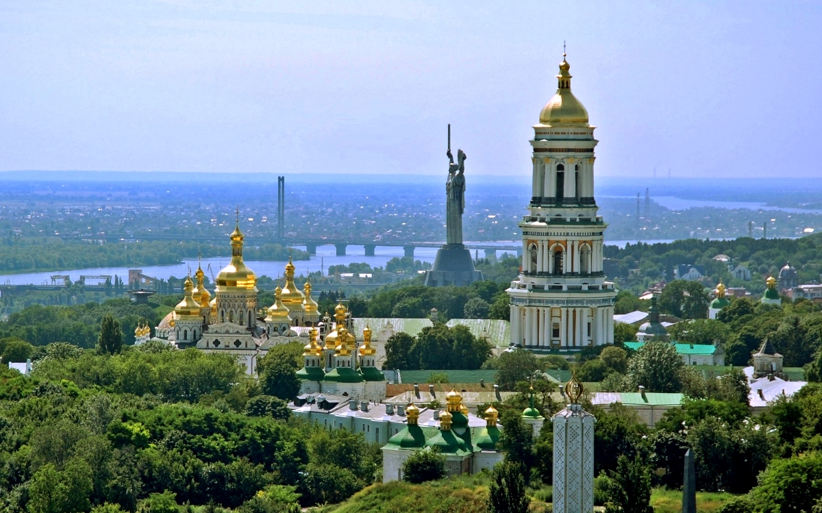 The Great Bell Tower of Kiev Pechersk Lavra
