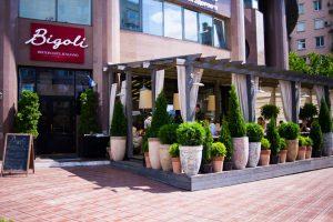 Bigoli Italian restaurant Kiev