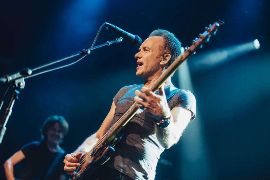 Concert of Sting in Kyiv