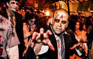 Halloween. Dark Night