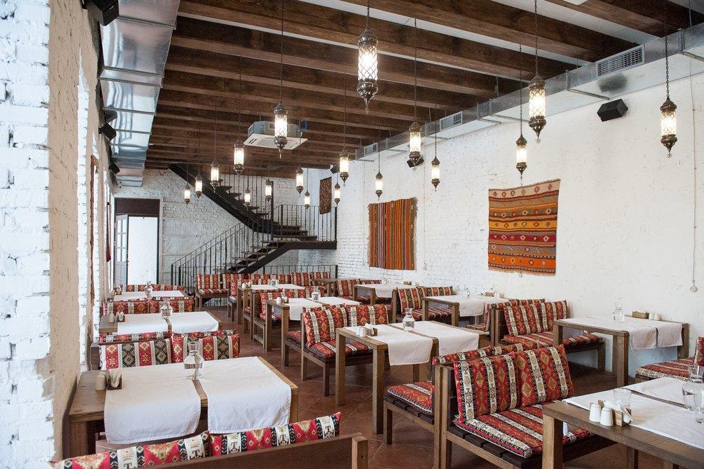 Musafir halal restaurant in Kiev