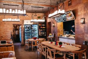 Classic fish restaurant in Kiev