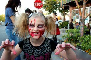 Halloween Zombie Walk in Kiev