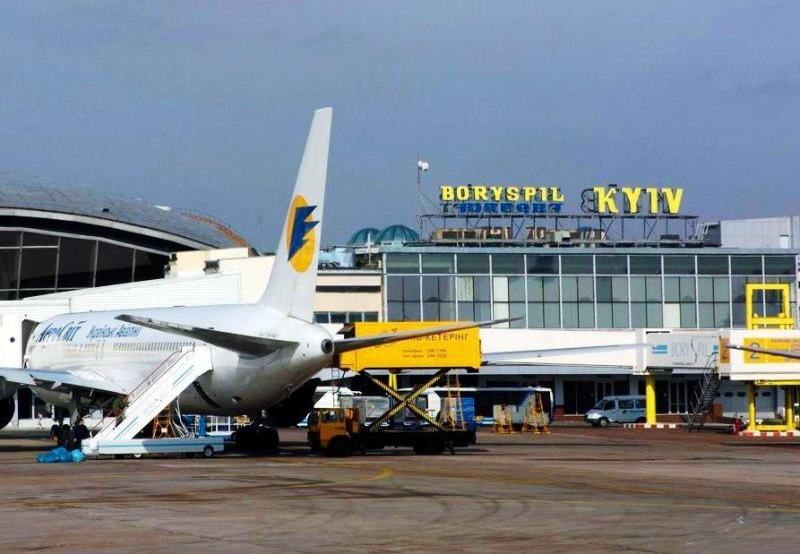 Boryspil airport Kiev
