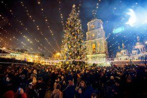 New Year in Kiev Ukraine