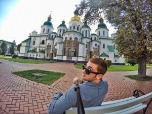 Drew Goldberg about his stay in Kiev