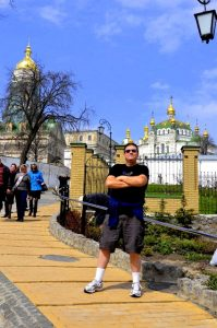 American in Kiev