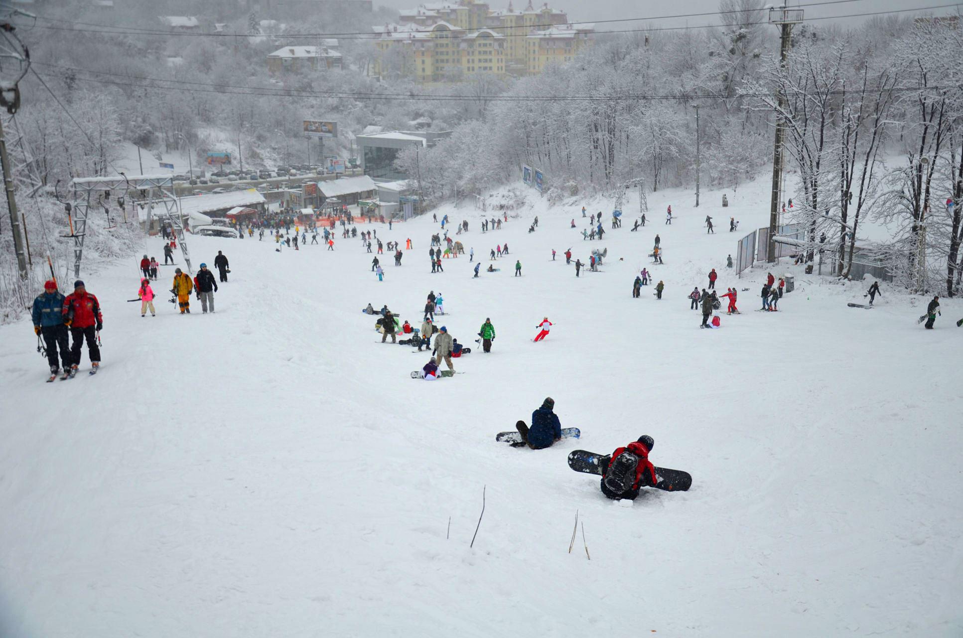 Ski in Kiev Ukraine