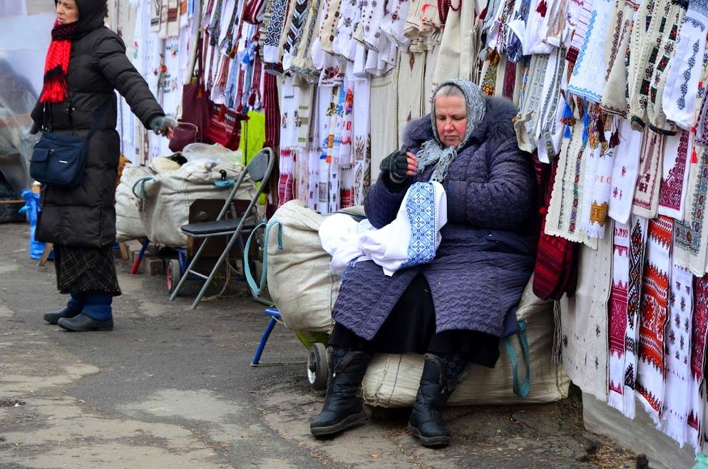 Ukrainian babushkas