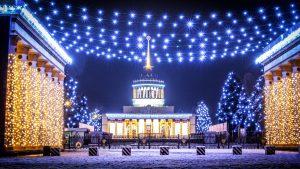 New Year VDNh in Kiev