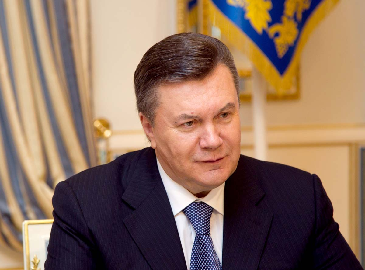 Yanukovich president of Ukraine