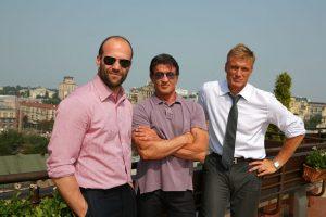Hollywood stars in Kiev