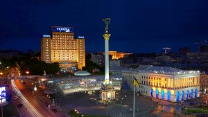 Maidan or Independence Square in Ukraine