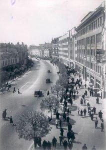 Khreschatyk street in Kiev