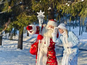 Father Frost in Russia