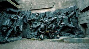 Soviet monuments in Kiev