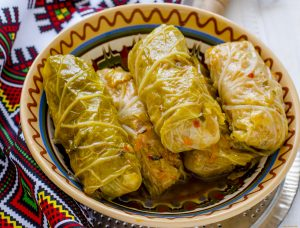 Ukrainian Stuffed Cabbage (Holubtsi)