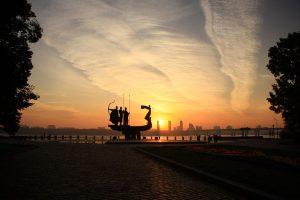 Kiev in the evening