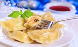 Ukrainian traditional food - vareniki