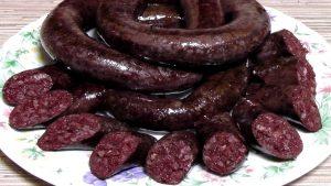Ukrainian sausages