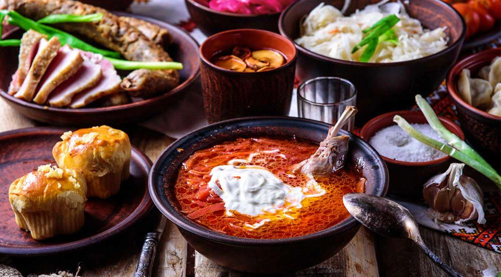 History of Ukrainian Cuisine