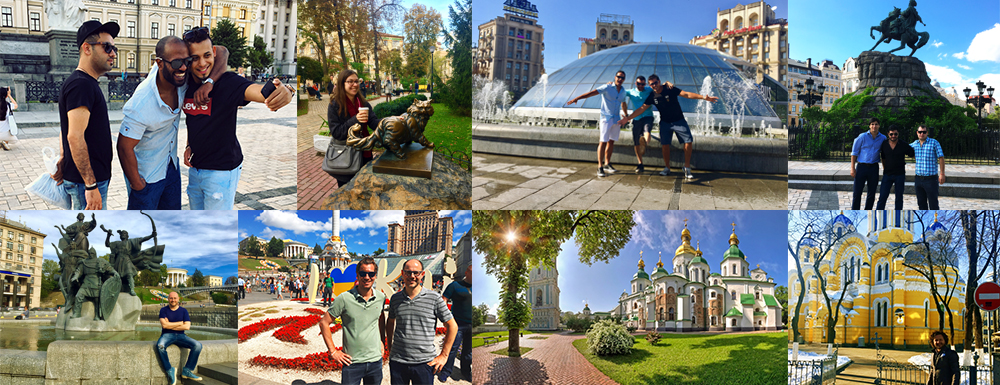 Private city Kyiv Tours in English, German and French