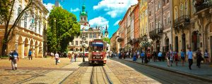 Lviv - the city on the West of Ukraine