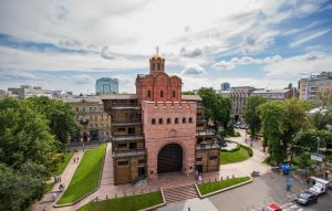 Golden Gate of Kiev is the main entrance to ancient Kiev