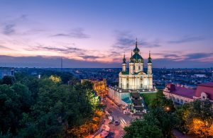 St Andrew's Church in Kiev