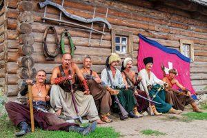 Ukrainian cossacks
