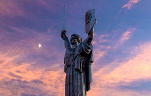 Statue of Motherland in Kiev