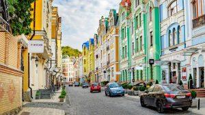 Podil or Podol in Kiev