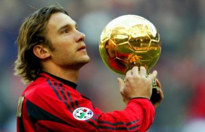 Shevchenko football player
