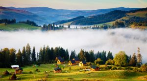 Mountains in Ukraine