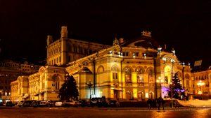 Opera Theatre in Kiev, Ukraine
