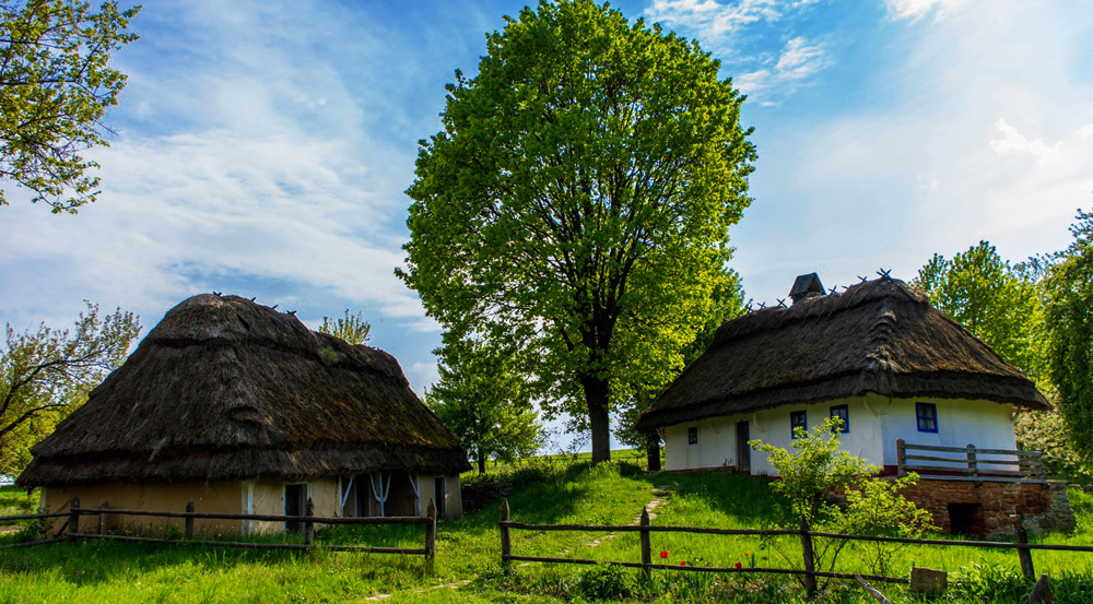Pirohiv open-air museum of Ukrainian countryside