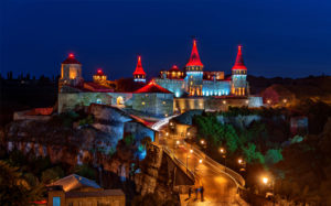 Castles of western ukraine